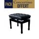 C. Bechstein 124 Classic laqué noir