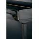 C. Bechstein 124 Elégance laqué noir détail