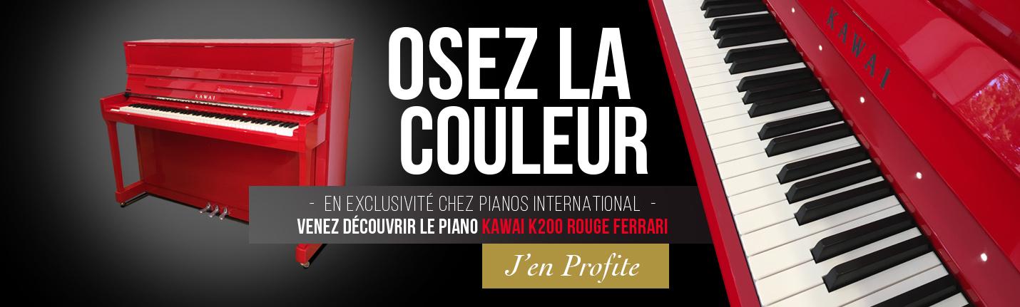 Exclusivité Pianos International