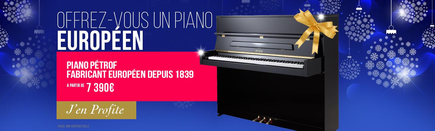 Pétrof, le vrai piano Européen
